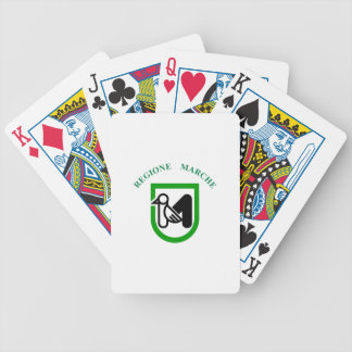 Flag_of_Marche Bicycle Playing Cards