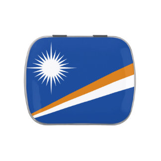 Flag of  Marshall Islands Jelly Belly™ Candy Tin