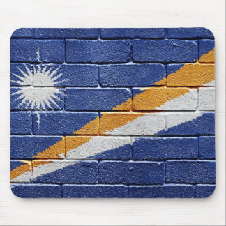 Flag of Marshall Islands Mouse Pad