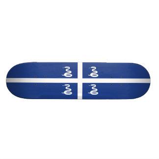 Flag of Martinique Skateboard Deck