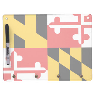 Flag of Maryland Dry-Erase Board