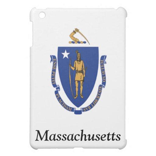 Flag of Massachusetts iPad Mini Cases