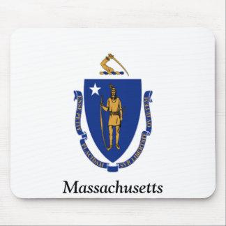 Flag of Massachusetts Mouse Pad