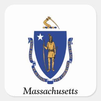 Flag of Massachusetts Stickers