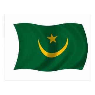 Flag of Mauritania Postcard