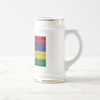 Flag of Mauritius Beer Stein