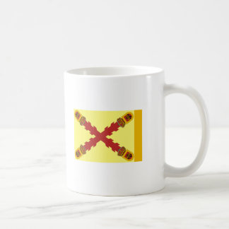 Flag of Mexican Royalists Coffee Mugs