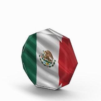 Flag of Mexico Acrylic Award