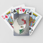 Flag of Mexico Bicycle Card Decks