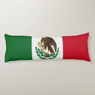 Flag of Mexico Body Pillow