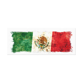 Flag of Mexico Canvas Print