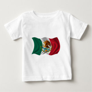 Flag of Mexico, Coat of Arms Baby T-Shirt