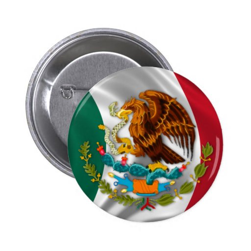 Flag of Mexico, Coat of Arms Pins