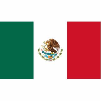 Flag of Mexico Cutout