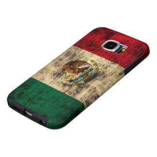 Flag of Mexico Distressed Samsung Galaxy S6 Case