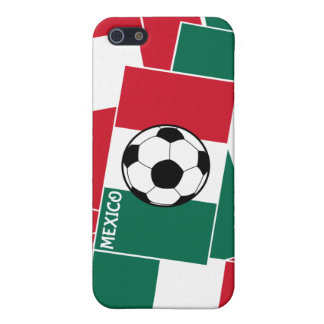 Flag of Mexico Football Case For iPhone SE/5/5s