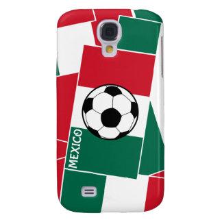 Flag of Mexico Football Galaxy S4 Case