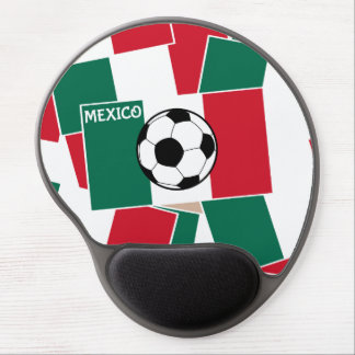 Flag of Mexico Football Gel Mouse Pad