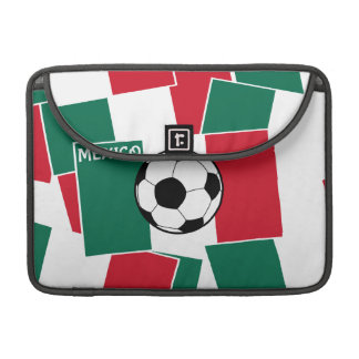 Flag of Mexico Football MacBook Pro Sleeve