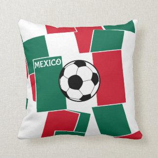 Flag of Mexico Football Pillow