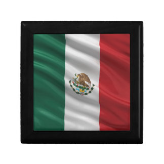 Flag of Mexico Trinket Box