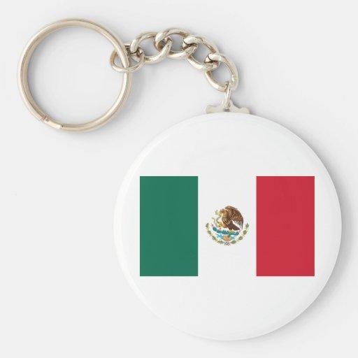Flag of Mexico Key Chain