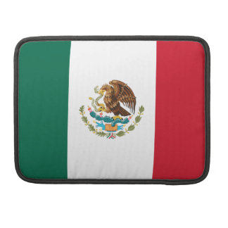 Flag of Mexico Macbook Pro Flap Sleeve