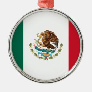 Flag of Mexico - Mexican Flag - Bandera de México Metal Ornament