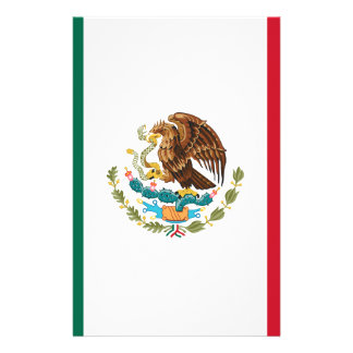 Flag of Mexico - Mexican Flag - Bandera de México Stationery