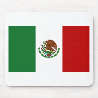 Flag of Mexico Mouse Pad