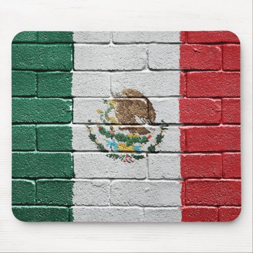 Flag of Mexico Mouse Pads