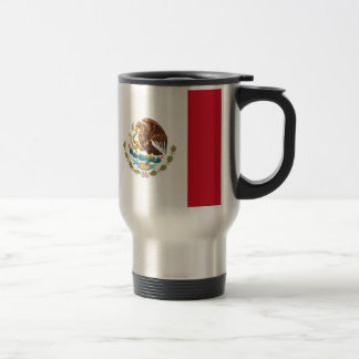 Flag of Mexico 15 Oz Stainless Steel Travel Mug