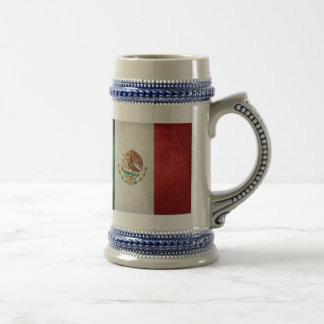 Flag of Mexico 18 Oz Beer Stein