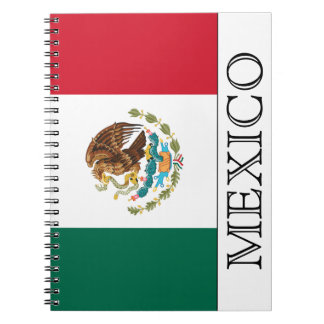 Flag of Mexico Notebook