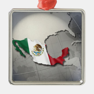Flag of Mexico Ornaments