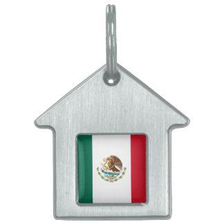 Flag of Mexico Pet Tag