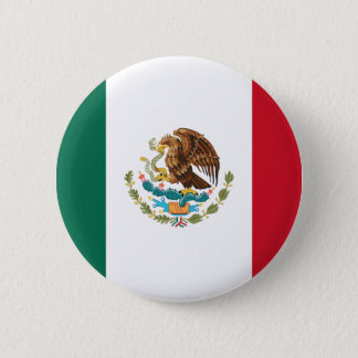 Flag of Mexico Pinback Button
