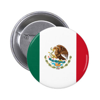 Flag of Mexico Pinback Button