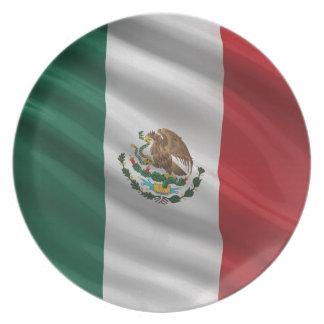 Flag of Mexico Plates