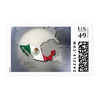 Flag of Mexico Postage