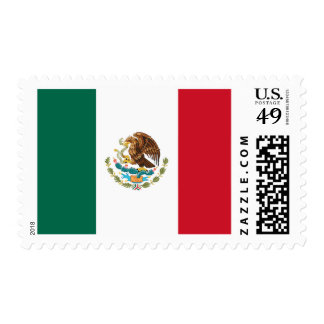 Flag of Mexico Postage Stamps