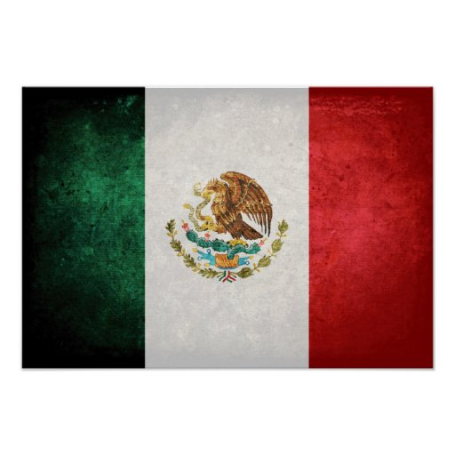 Flag of Mexico Posters