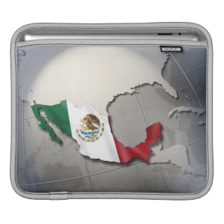 Flag of Mexico Sleeve For iPads