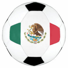 Flag of Mexico Soccer Ball at Zazzle