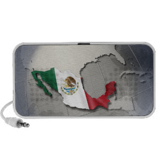 Flag of Mexico iPhone Speakers