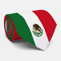 Flag of Mexico Tie