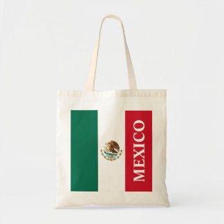 Flag of Mexico Tote Bag