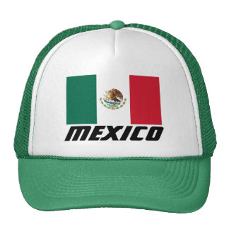 Flag of Mexico Trucker Hat