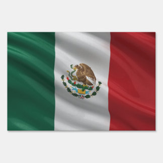 Flag of Mexico Yard Sign