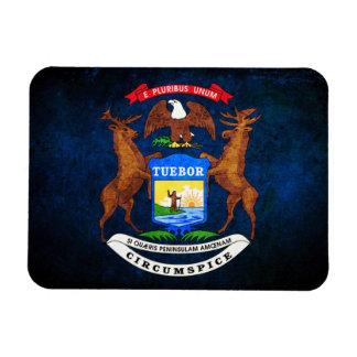 Flag of Michigan Rectangular Photo Magnet